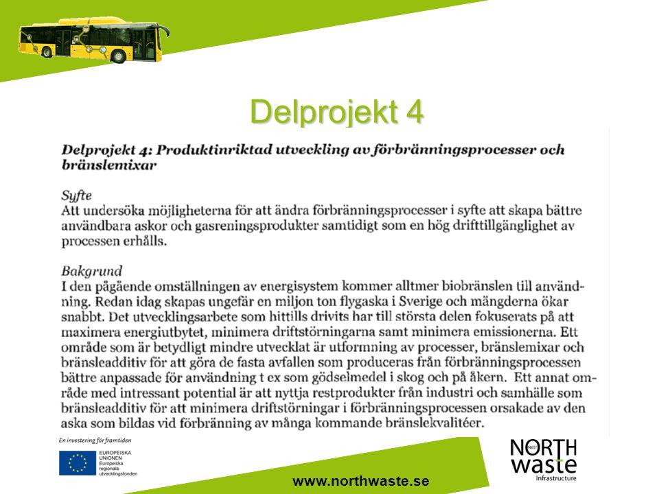 www.northwaste.se Delprojekt 4