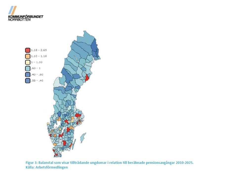 Bedömningar har visat att teknisk utveckling kommer att klara den demografiska kostnadsökningen för en genomsnittskommun i Sverige.