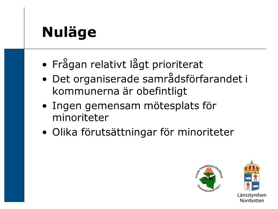 Reflektioner Blandat mottagande hos aktörerna Ämnesområdet upp på dagordningen Först på banan – föregångslän.