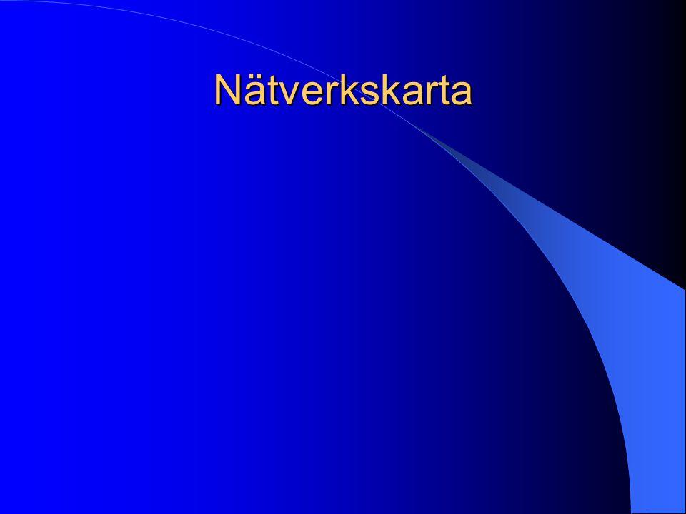 Nätverkskarta