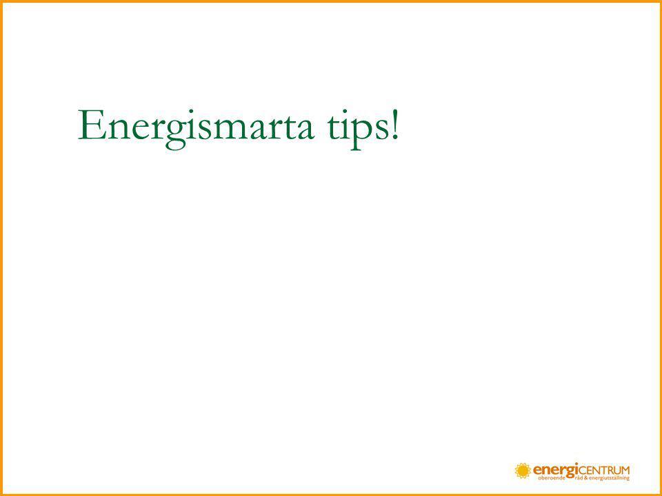 Se din energianvändning i ett helhetsperspektiv 1.