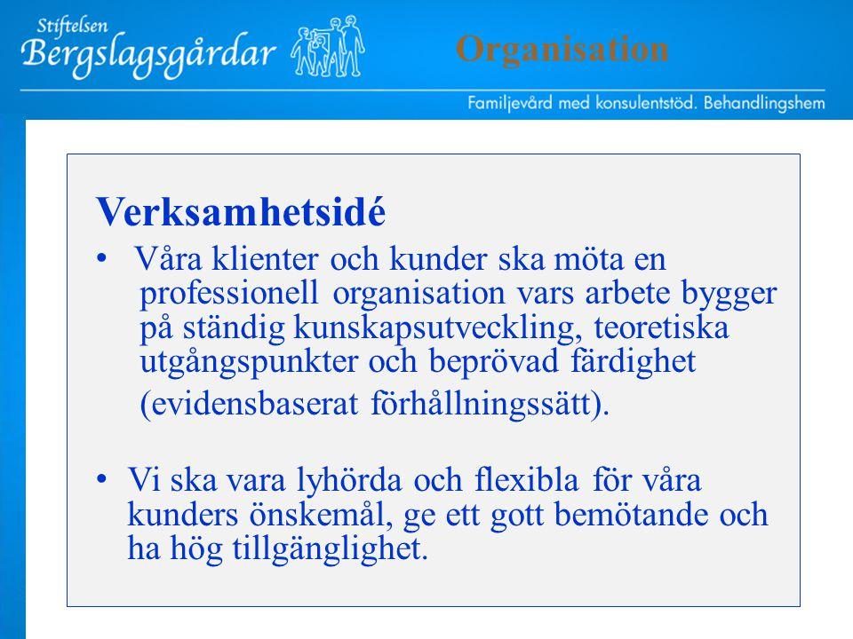 Övergripande mål Utveckling av vår kärnverksamhet Nöjda kunder Organisation