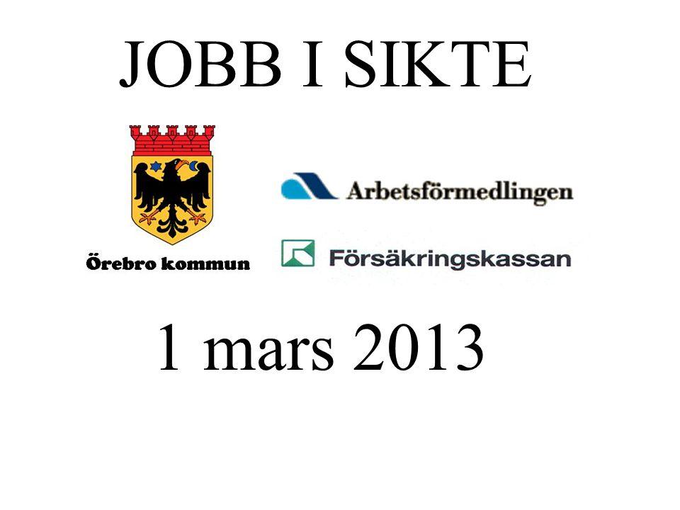 1 mars 2013 JOBB I SIKTE
