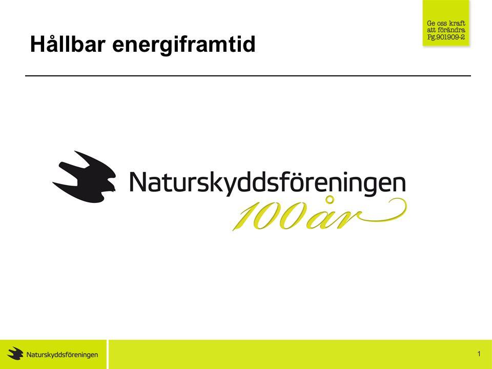 1 Hållbar energiframtid