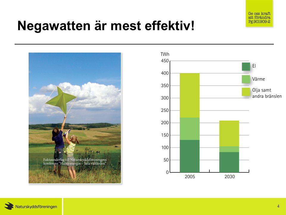 Negawatten är mest effektiv! 4