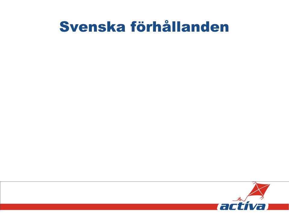 Svenska förhållanden