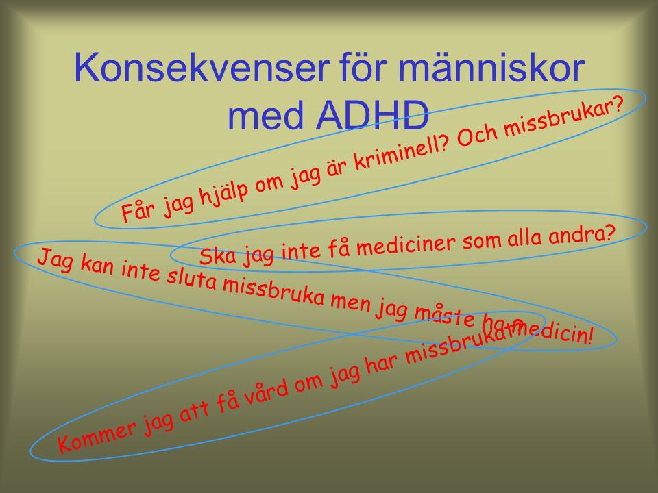 Förskrivning av centralstimulantia till vuxna Dispensförfarande Förslag om fri förskrivning Förskrivningsrättighet till psykiatrer sedan 1/12 2008