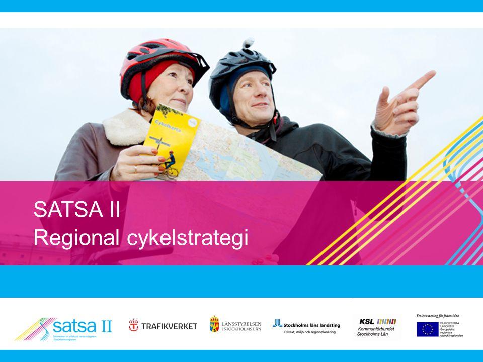 SATSA II Regional cykelstrategi