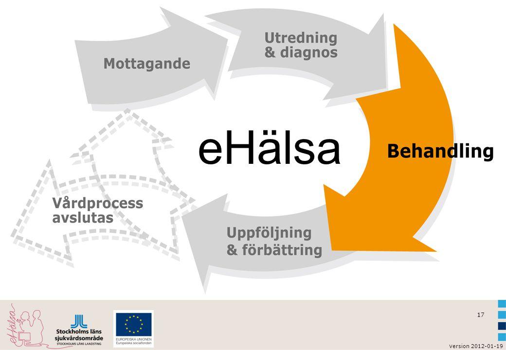 v ersion 2012-01-19 17 eHälsa