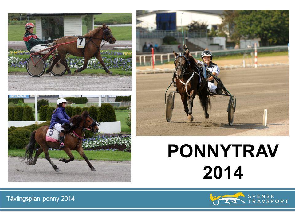 Tävlingsplan ponny 2014 PONNYTRAV 2014