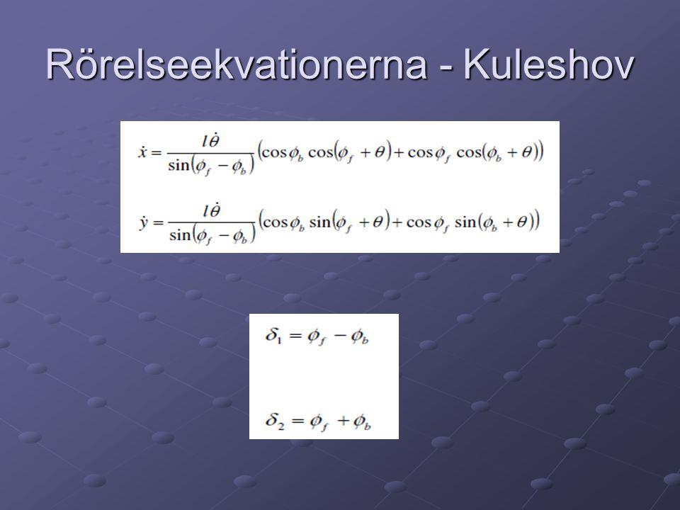 Rörelseekvationerna - Kuleshov