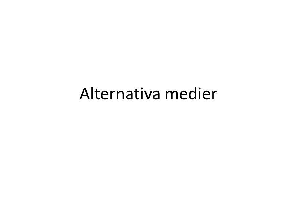 Alternativa medier