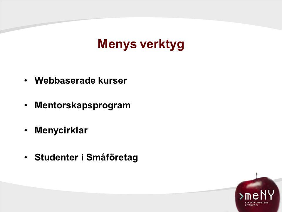 Totalt antal genomförda utbildningsdagar i Meny 2002-2009
