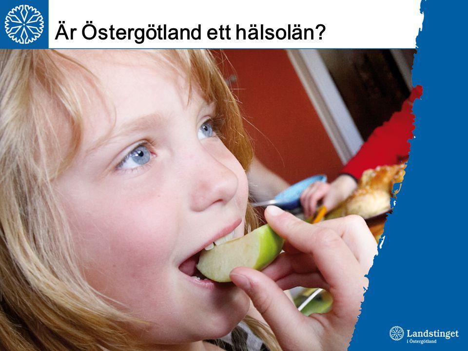 Är Östergötland ett hälsolän?