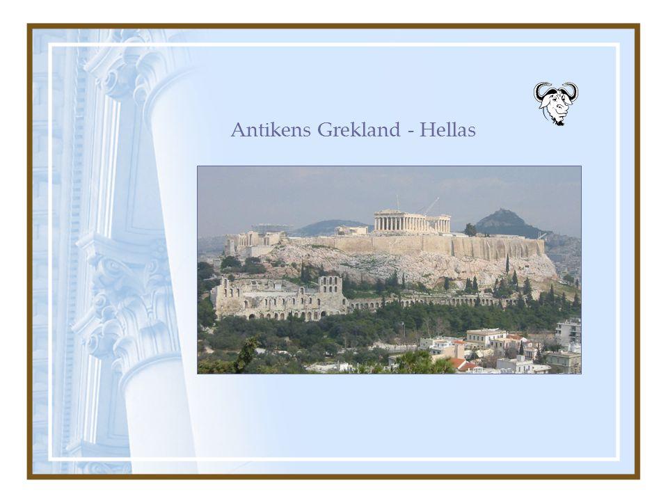Antikens Grekland - Hellas
