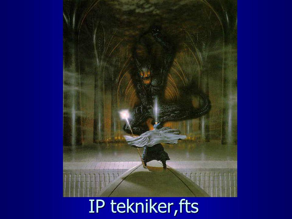 IP tekniker,fts