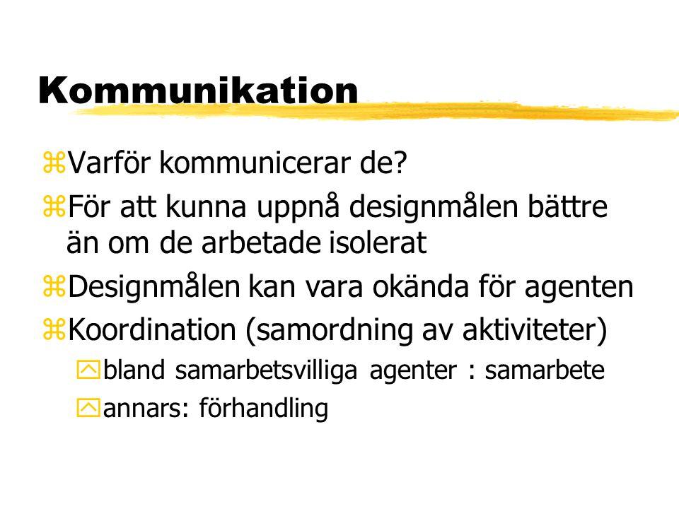 Kommunikation zVarför kommunicerar de.