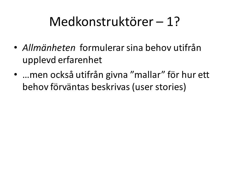Medkonstruktörer – 1.