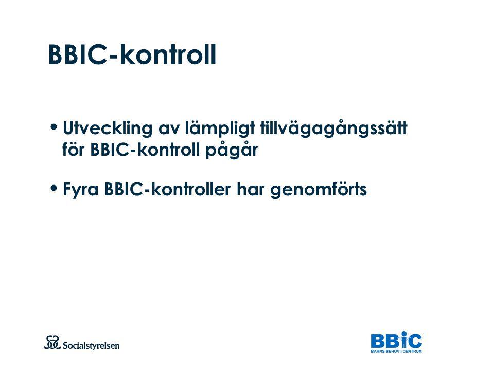 Att visa fotnot, datum, sidnummer Klicka på fliken Infoga och klicka på ikonen sidhuvud/sidfot Klistra in text: Klistra in texten, klicka på ikonen (Ctrl), välj Behåll endast text BBIC-kontroll Utveckling av lämpligt tillvägagångssätt för BBIC-kontroll pågår Fyra BBIC-kontroller har genomförts