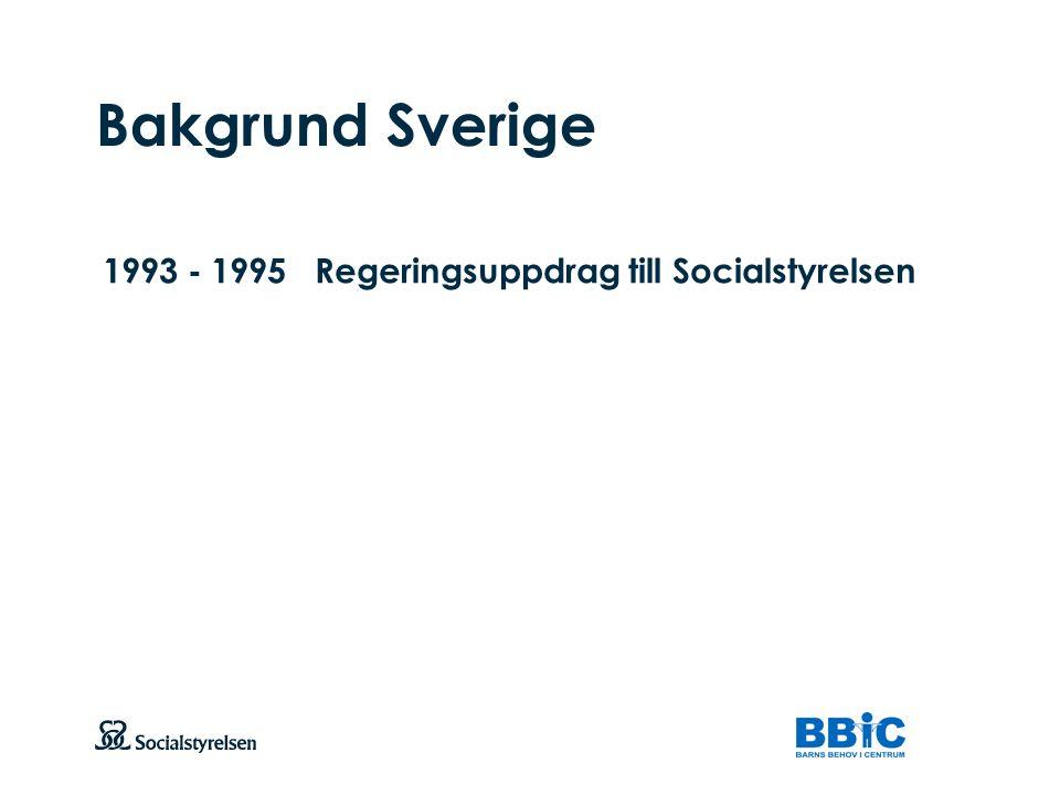 Att visa fotnot, datum, sidnummer Klicka på fliken Infoga och klicka på ikonen sidhuvud/sidfot Klistra in text: Klistra in texten, klicka på ikonen (Ctrl), välj Behåll endast text Bakgrund Sverige 1993 - 1995Regeringsuppdrag till Socialstyrelsen