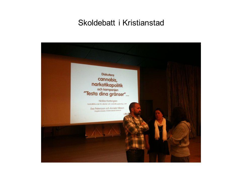 Skoldebatt i Kristianstad