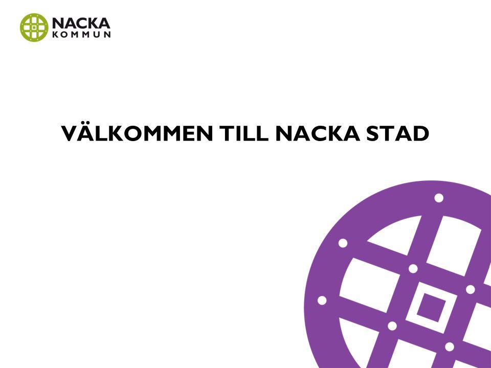 NACKA STRAND Den omedelbara närheten till Stockholm city, skärgårdskänslan och läget vid Stockholms inlopp gör Nacka strand unikt.
