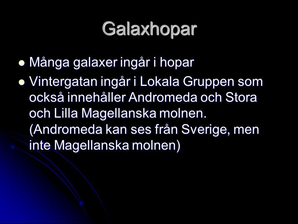 Callisto Påverkar Jupiters magnetfält i sin omgivning fast månen saknar starkt magnetfält.