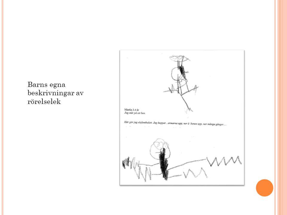 Barns egna beskrivningar av rörelselek