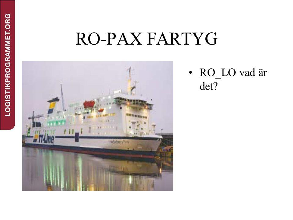 RO-PAX FARTYG RO_LO vad är det?