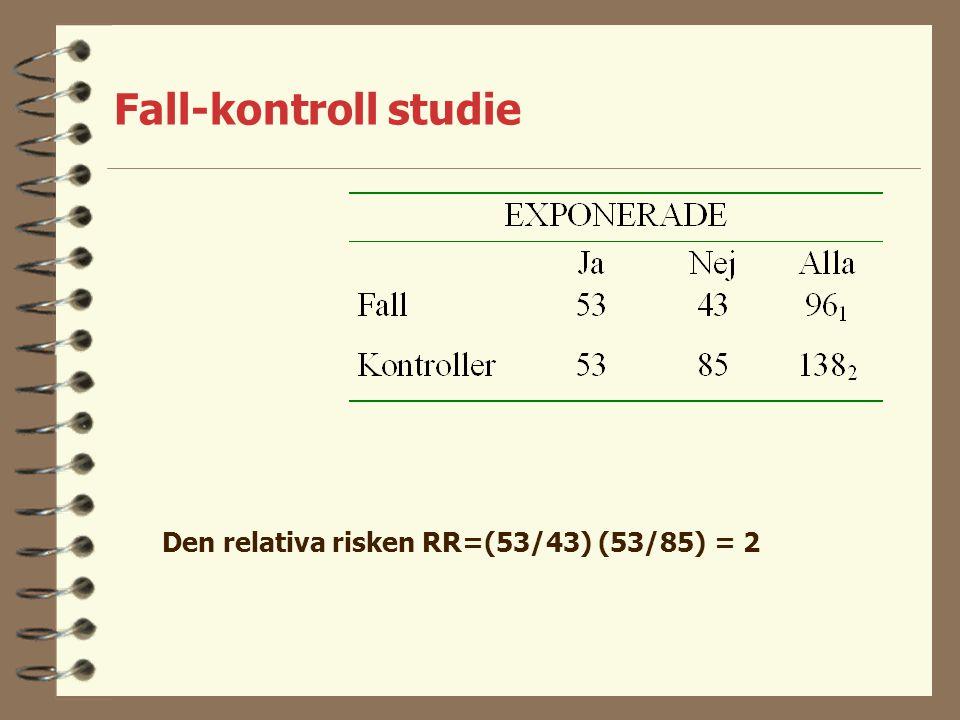 Fall-kontroll studie