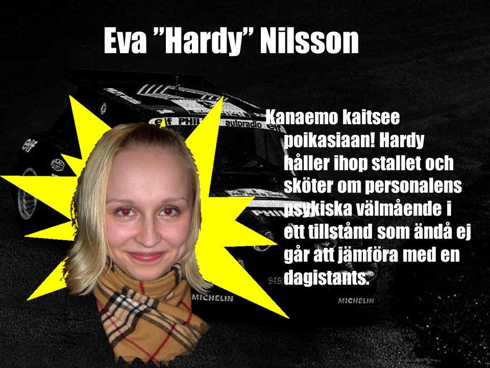 Eva Hardy Nilsson Kanaemo kaitsee poikasiaan.