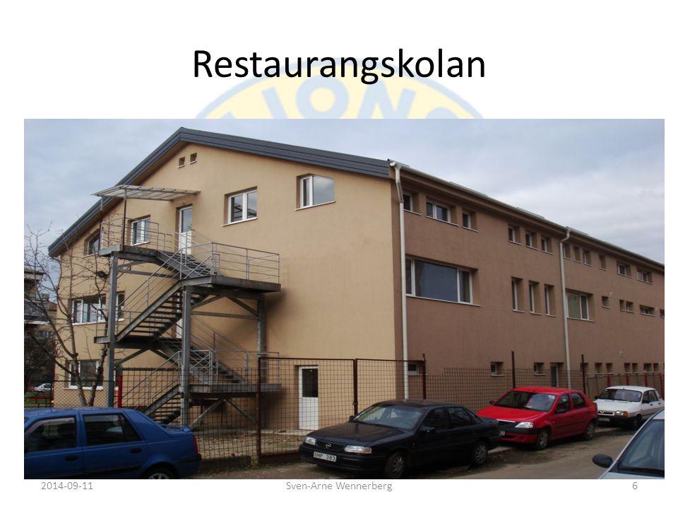 Restaurangskolan Vid NSR mötet i Kusamo 2006 antogs restaurangskolan i Oradea som ett NSR- projekt.