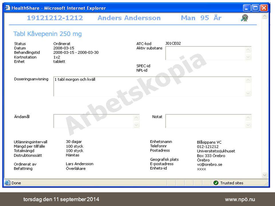 www.npö.nutorsdag den 11 september 2014