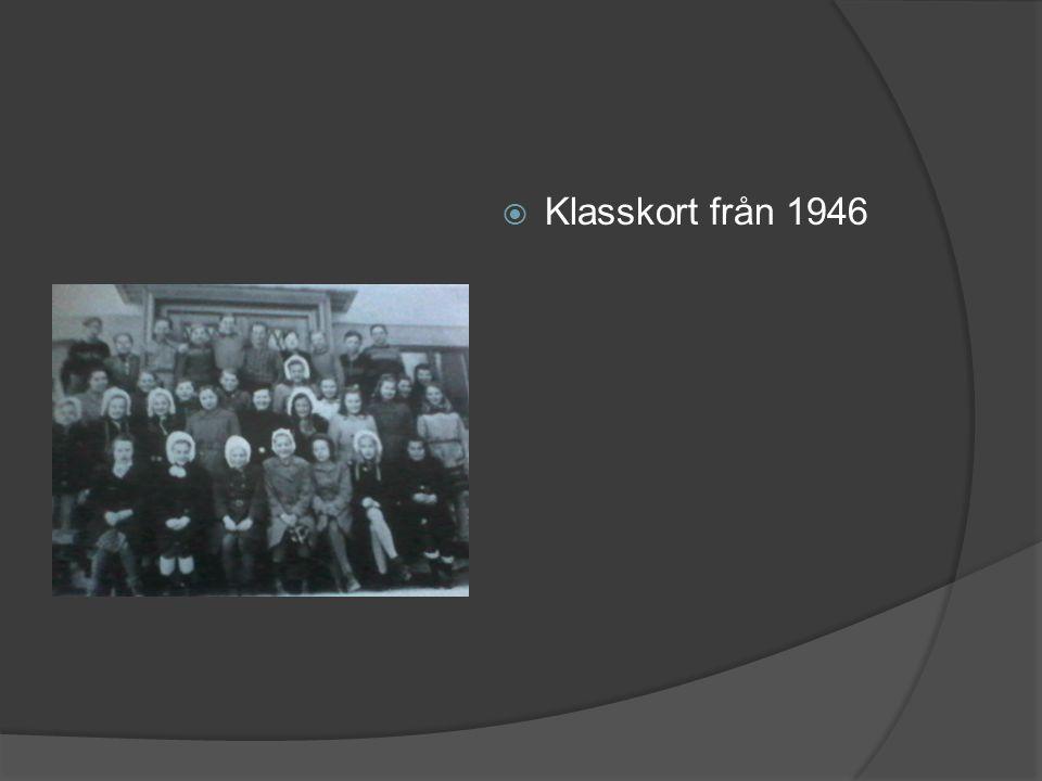  Klasskort från 1946