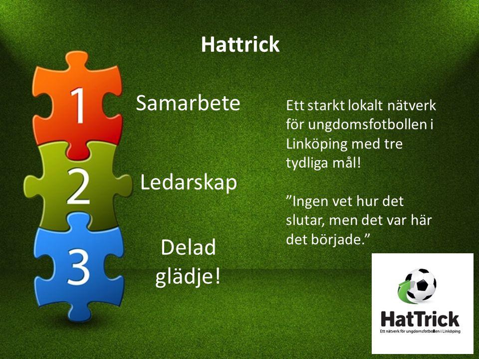 Hattrick Ett starkt lokalt nätverk för ungdomsfotbollen i Linköping med tre tydliga mål.