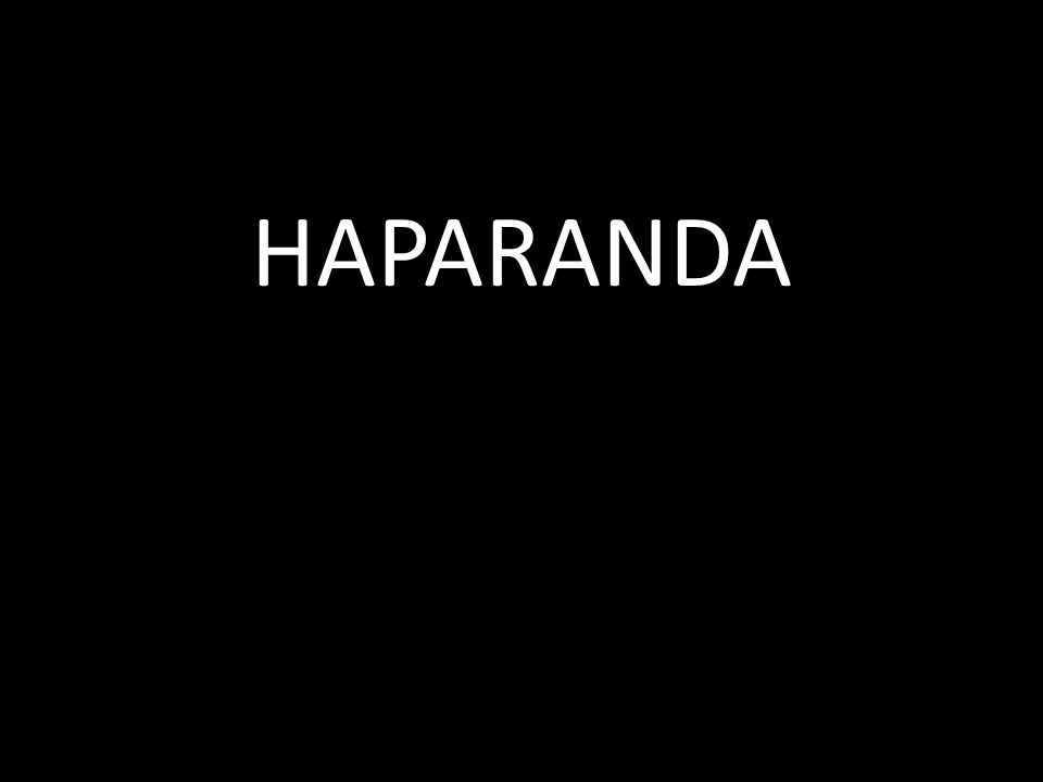 HAPARANDA