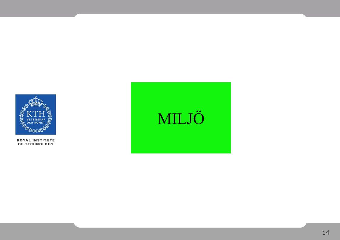 15 Exempel på miljösystemanalytiska verktyg MFA TMR MIPS SFA IOA SEEA MKB SMB EMS EA LCA LCC CBA EF RA
