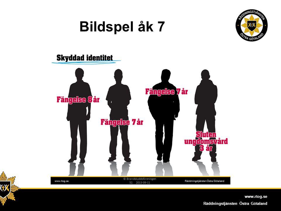 www.rtog.se Räddningstjänsten Östra Götaland Bildspel åk7