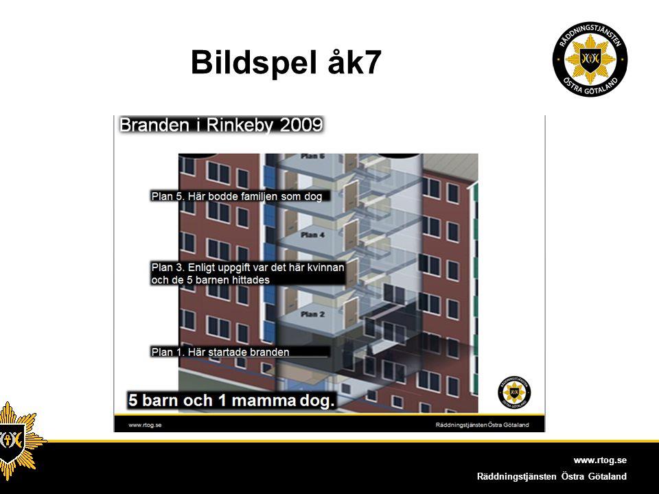 www.rtog.se Räddningstjänsten Östra Götaland Bildspel åk 7