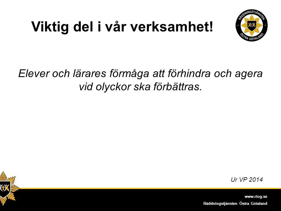 www.rtog.se Räddningstjänsten Östra Götaland Aningar På brandstationens gård stod tjejerna längst bak i kön till brandsläckningsmomentet Få kvinnor ger utbildningen Enligt MSB:s enkät Trygghet och säkerhet i vardagen, vill kvinnor lära sig mer om säkerhet.