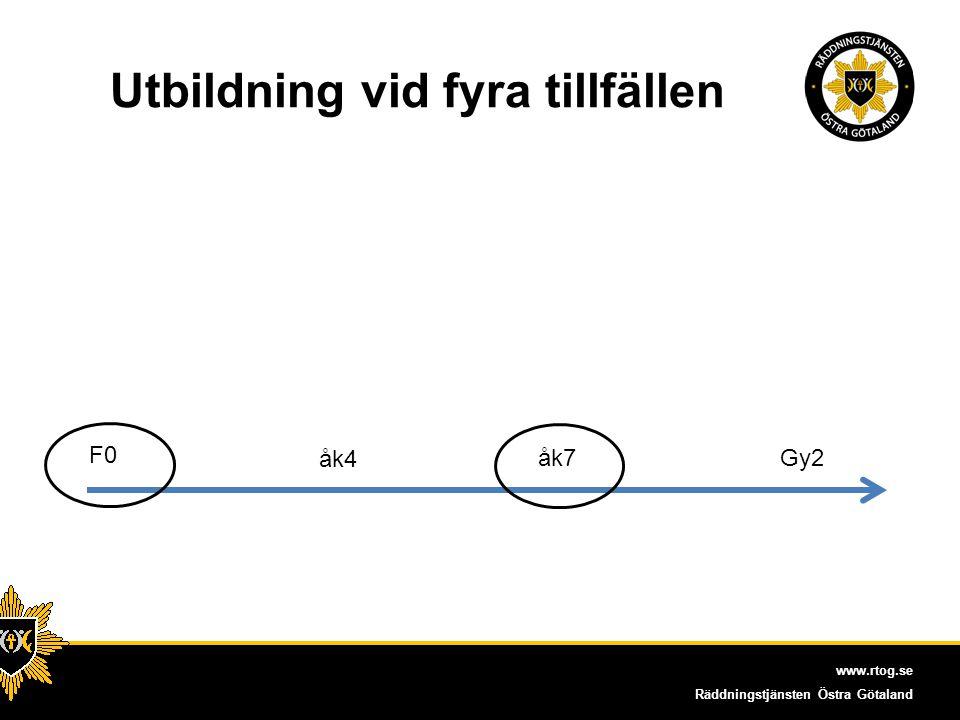 www.rtog.se Räddningstjänsten Östra Götaland Kvalitet också viktigt.