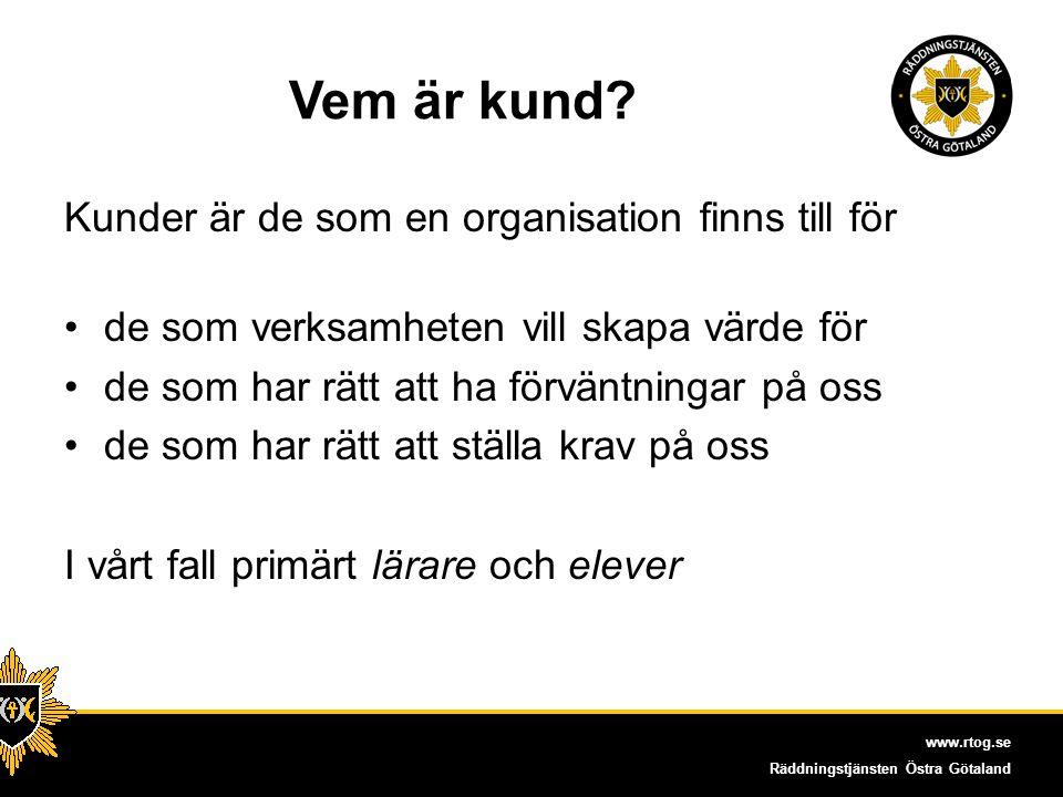 www.rtog.se Räddningstjänsten Östra Götaland Vad har vi gjort.