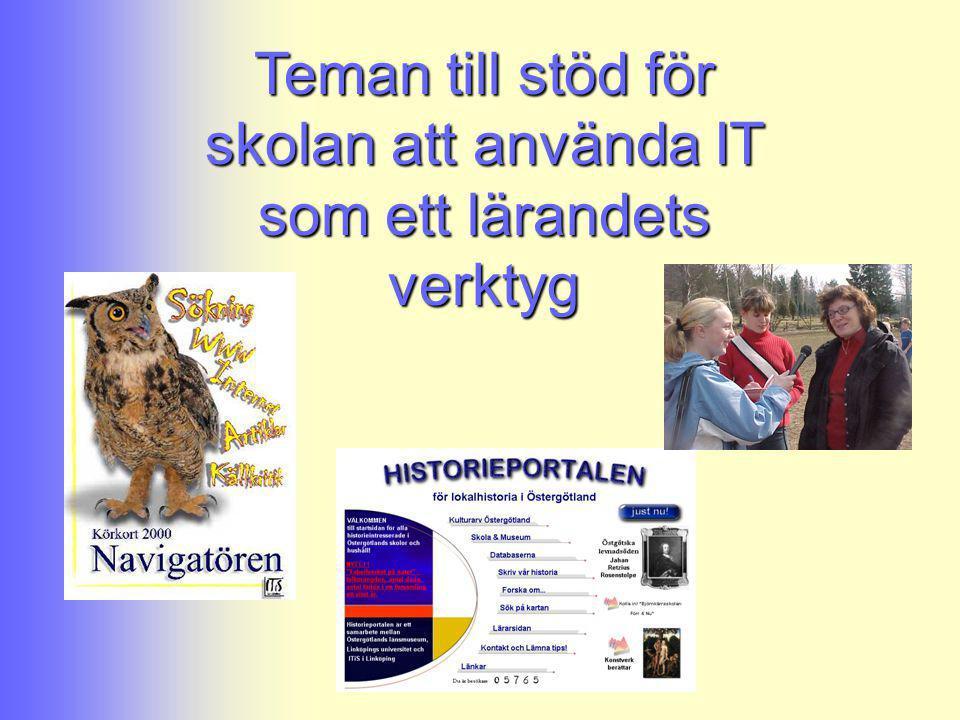 Teman till stöd för skolan att använda IT som ett lärandets verktyg