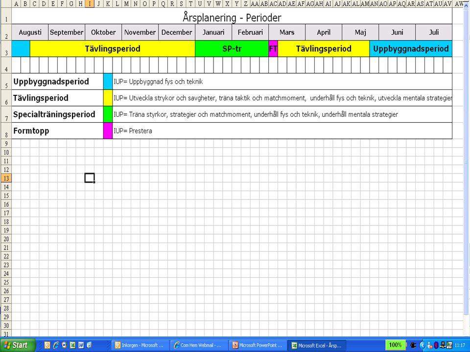 Utvärdering - Prestationer och resultat - Känslan, på rätt väg.