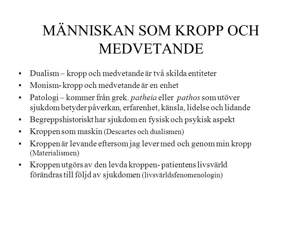 Omvårdnadssystem Vårdinsats Egenvård Helt kompenseratDelvis kompenseratStödjande-undervisande 2013-01-23