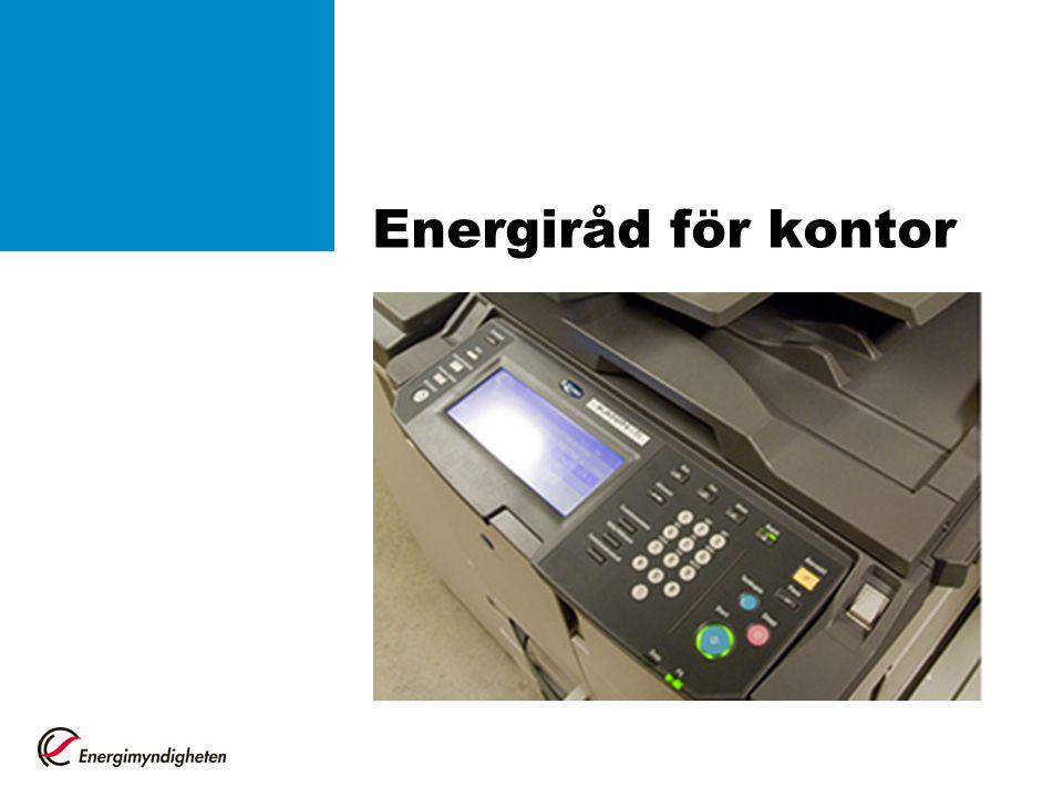 Energiråd för kontor