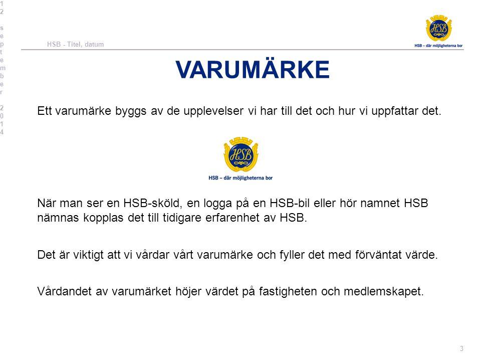 GEMENSAMMA RIKTLINJER MALLAR OCH SYMBOLER Alla HSB-föreningarna har tillsammans en överenskommelse om att använda gemensamma symboler, oavsett om vi är ett företag i HSB eller en brf.