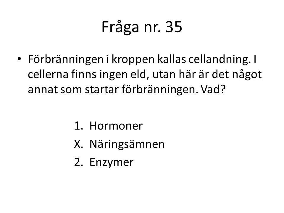 Fråga nr.