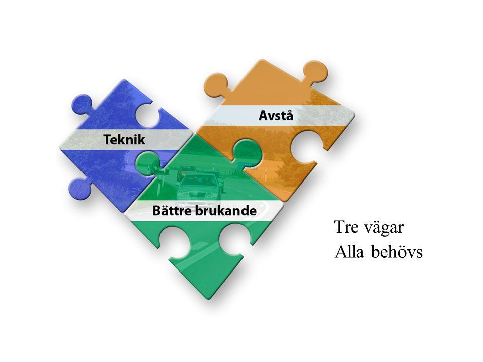 Tre vägar Alla behövs