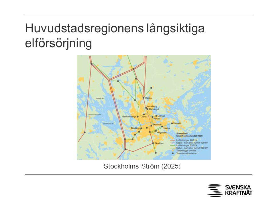 Huvudstadsregionens långsiktiga elförsörjning Stockholms Ström (2025 )